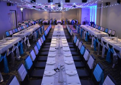 MLH Function Room-LongTables